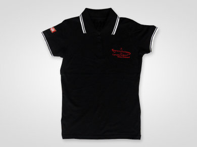 Stick auf Polo Shirts